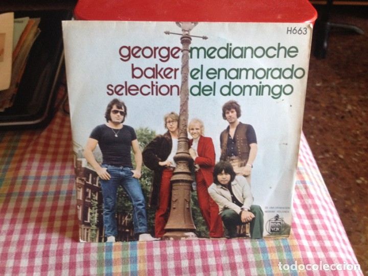 GEORGE BAKER SELECTION - MEDIANOCHE. SINGLE MADE IN PAIN 1970 (Música - Discos de Vinilo - Singles - Pop - Rock Extranjero de los 80)