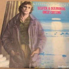 Discos de vinilo: KEITH MARSHALL. SILVER DIAMONDS. ONLY CRYING. MOVIEPLAY 1982. PROMOCIONAL.. Lote 182956390