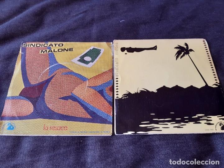 Discos de vinilo: SINDICATO MALONE - 2 SINGLES: SOLO POR ROBAR & EL MILLONARIO - Foto 2 - 182960306