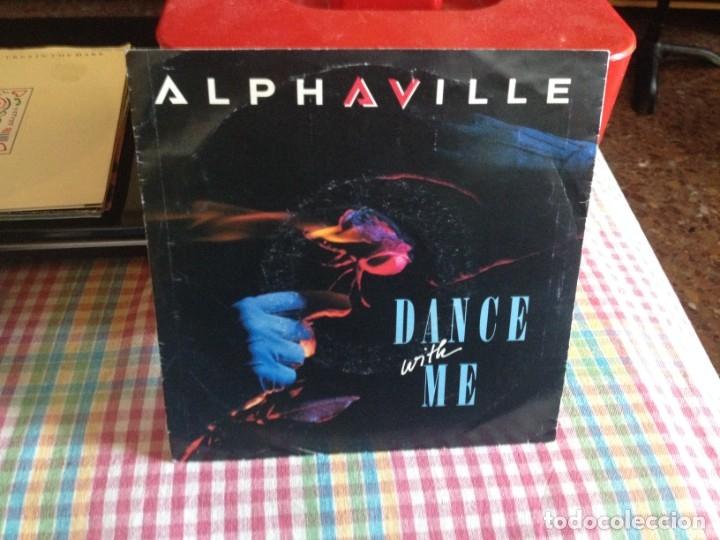 ALPHAVILLE - DANCE WITH ME SINGLE MADE IN SPAIN 1986 (Música - Discos de Vinilo - Singles - Pop - Rock Extranjero de los 80)