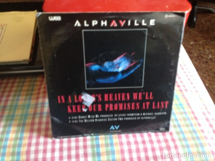 Discos de vinilo: ALPHAVILLE - DANCE WITH ME SINGLE MADE IN SPAIN 1986 - Foto 2 - 182960881