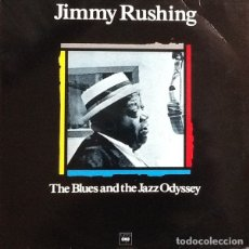 Discos de vinilo: JIMMY RUSHING – THE BLUES AND THE JAZZ ODYSSEY LP JAZZ BLUES. Lote 182962661