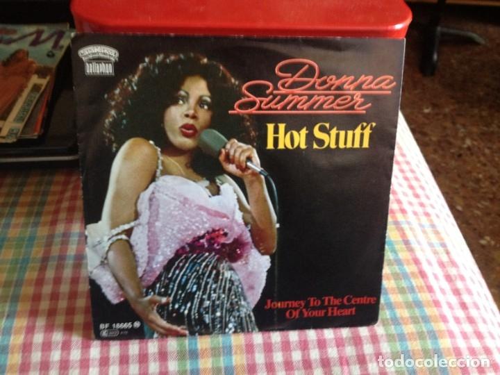 DONNA SUMMER - HOT STUFF SINGLE MADE IN GERMANY 1979 (Música - Discos de Vinilo - Singles - Pop - Rock Extranjero de los 80)