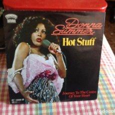 Discos de vinilo: DONNA SUMMER - HOT STUFF SINGLE MADE IN GERMANY 1979. Lote 182962706