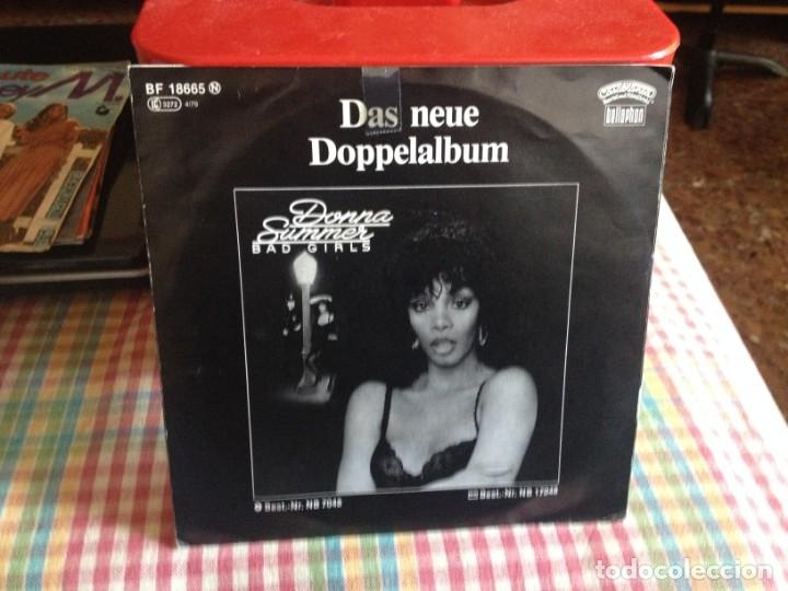 Discos de vinilo: DONNA SUMMER - HOT STUFF SINGLE MADE IN GERMANY 1979 - Foto 2 - 182962706