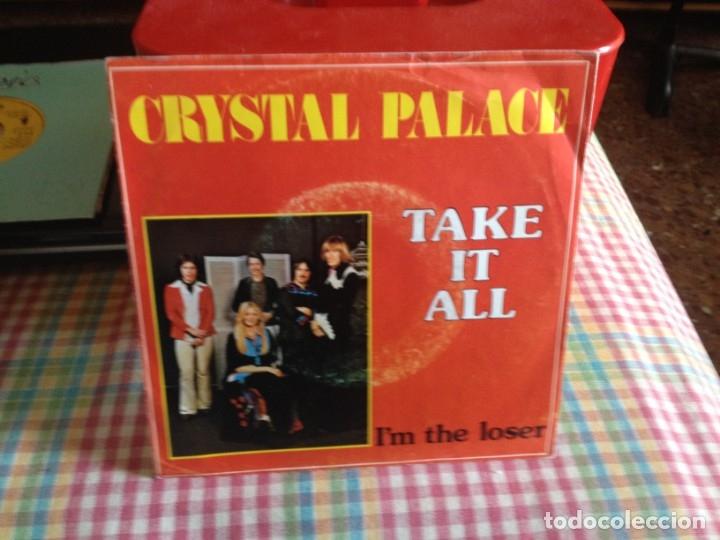 CRYSTAL PALACE - TAKE IT ALL / SINGLE MADE IN HOLLAND 1976 (Música - Discos de Vinilo - Singles - Pop - Rock Extranjero de los 80)