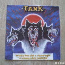 Discos de vinilo: TANK. HE FELL IN LOVE WITH A STORMTROOPER. Lote 182964737