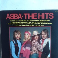 Discos de vinilo: ABBA THE HITS. Lote 182964912