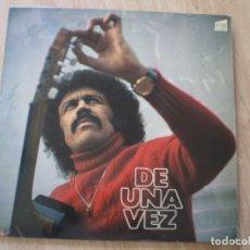 Discos de vinilo: LP. ALI PRIMERA. DE UNA VEZ. LETRAS. Lote 182965761
