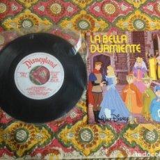 Discos de vinilo: LA BELLA DURMIENTE CUENTADISCO BRUGUERA. Lote 182965792