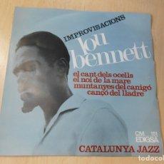 Discos de vinilo: LOU BENNETT - CATALUNYA JAZZ -, EP, EL CANT DELS OCELLS + 3, AÑO 1966. Lote 182965806