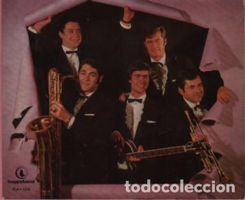 Discos de vinilo: Disco deL GRUPO COMODINES - LA MAYORIA MUSICOS DE MANRESA - happyband - Foto 2 - 182800286