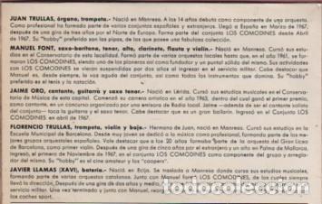 Discos de vinilo: Disco deL GRUPO COMODINES - LA MAYORIA MUSICOS DE MANRESA - happyband - Foto 4 - 182800286