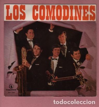 DISCO DEL GRUPO COMODINES - LA MAYORIA MUSICOS DE MANRESA - HAPPYBAND (Música - Discos de Vinilo - EPs - Rock & Roll)