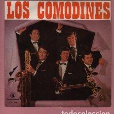 Discos de vinilo: DISCO DEL GRUPO COMODINES - LA MAYORIA MUSICOS DE MANRESA - HAPPYBAND. Lote 182800286