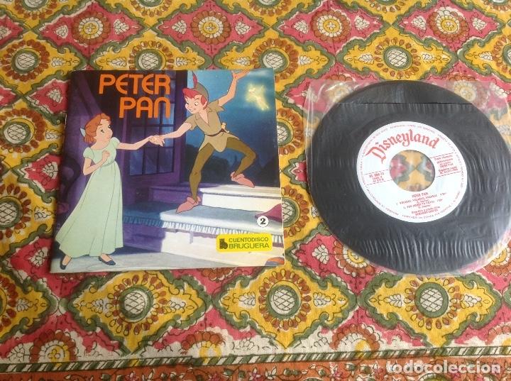PETER PAN CUENTADISCO BRUGUERA (Música - Discos de Vinilo - EPs - Música Infantil)