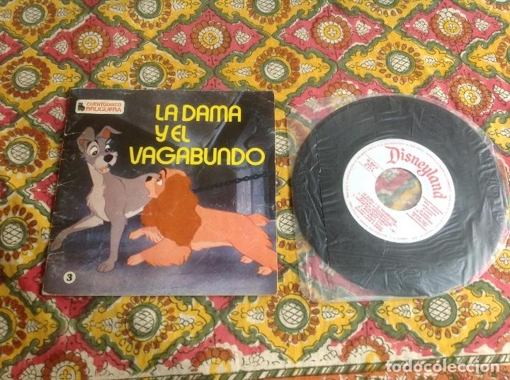LA DAMA Y EL VAGABUNDO CUENTADISCO BRUGUERA (Música - Discos de Vinilo - EPs - Música Infantil)