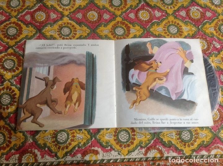 Discos de vinilo: LA DAMA Y EL VAGABUNDO CUENTADISCO BRUGUERA - Foto 2 - 182967201