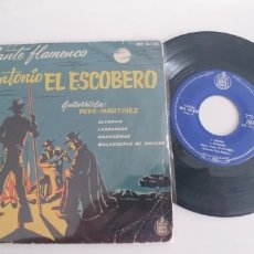 Discos de vinilo: ANTONIO EL ESCOBERO-EP ALEGRIAS +3. Lote 182967912