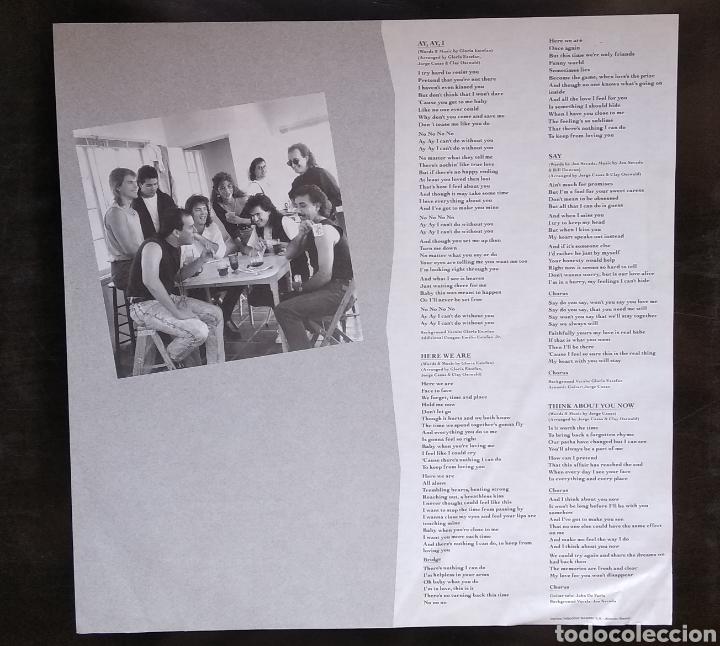 Discos de vinilo: LOTE DE 3 LPs de GLORIA ESTEFAN - Foto 3 - 182967968