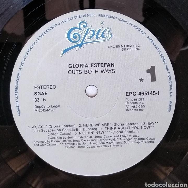 Discos de vinilo: LOTE DE 3 LPs de GLORIA ESTEFAN - Foto 6 - 182967968