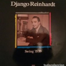 Discos de vinilo: DJANGO REINHARDT – SWING '35 '39 VINYL, LP, COMPILATION, REISSUE SPAIN 1988 GYPSY JAZZ. Lote 182969758
