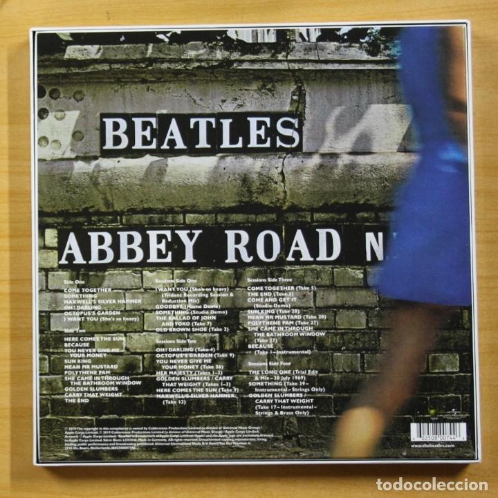 Discos de vinilo: THE BEATLES - ABBEY ROAD - BOX 3 LP - Foto 2 - 182971555