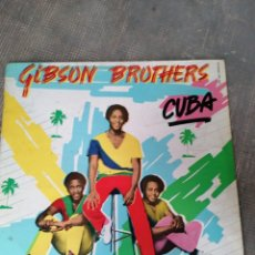 Discos de vinilo: GIBSON BROTHERS. Lote 182978436