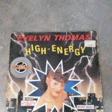 Discos de vinilo: EVELYN THOMAS. Lote 182978506
