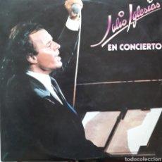 Discos de vinilo: DISCO LP EN CONCIERTO JULIO IGLESIAS DOBLE. Lote 182978740
