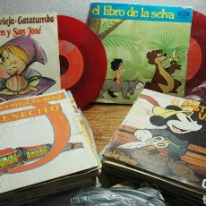 Discos de vinilo: LOTE VARIADO DISCOS EP SINGLES CUENTA CUENTOS Y MÁS. Lote 182984105