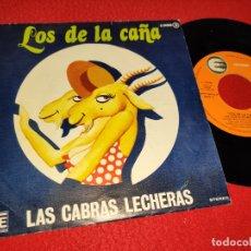 Discos de vinilo: LAS CABRAS LECHERAS LOS DE LA CAÑA/QUE SERA DE MI 7'' SINGLE 1978 EXPLOSION PROMO. Lote 182989531