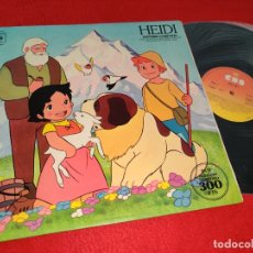 Discos de vinilo: HEIDI BSO OST TV DIBUJOS ANIMADOS LP 1975 CBS GATEFOLD SPAIN ESPAÑA. Lote 182990692