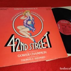 Discos de vinilo: 42ND STREET MUSICAL BSO OST GOWER CHAMPION LP 1980 RCA GATEFOLD USA. Lote 182990816