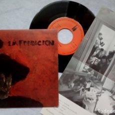 Discos de vinilo: LA FUNDACION - REPETICION / TODO PENSADO - SINGLE CON INSERTO 1983 - 3 CIPRESES. Lote 182990985