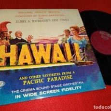 Discos de vinilo: HAWAII BSO OST ELMER BERNSTEIN LP 1967 SONOPLAY SPAIN ESPAÑA. Lote 182991258