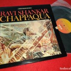 Discos de vinilo: CHAPPAQUA BSO OST RAVI SHANKAR LP 1976 CBS SPAIN ESPAÑA. Lote 182991523