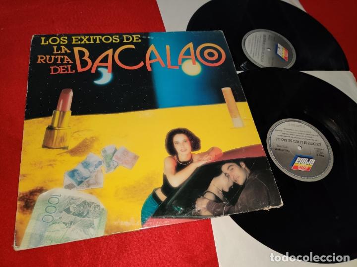 LOS EXITOS DE LA RUTA DEL BACALAO 2LP 1993 ARIOLA SPAIN ESPAÑA RECOPILATORIO DJ CERLA+SAVAGE+ETC (Música - Discos - LP Vinilo - Disco y Dance)
