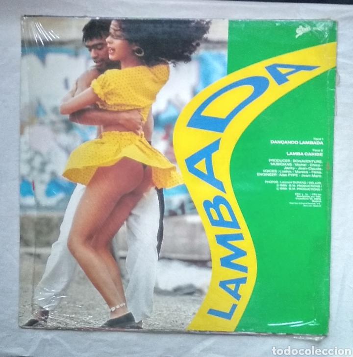 Discos de vinilo: LAMBADA ,,,LOTE DE 2 MAXI-SINGLES - Foto 2 - 182996597