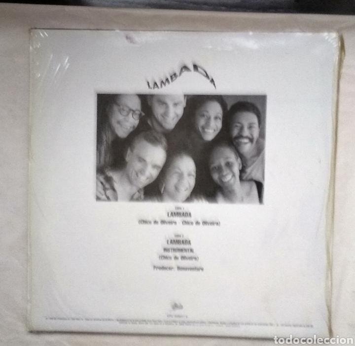 Discos de vinilo: LAMBADA ,,,LOTE DE 2 MAXI-SINGLES - Foto 7 - 182996597