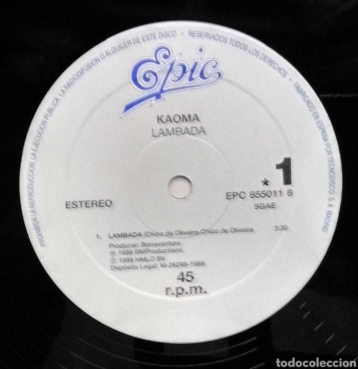 Discos de vinilo: LAMBADA ,,,LOTE DE 2 MAXI-SINGLES - Foto 9 - 182996597
