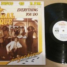 Discos de vinilo: CENTRAL PARQUE / EVERYTHING YOU DO / MAXI-SINGLE 12 INCH. Lote 183003478
