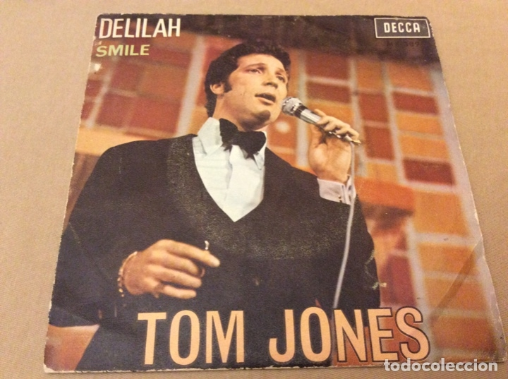 Discos de vinilo: TOM JONES - DELILAH / SMILE. DECCA 1967. - Foto 1 - 183005886