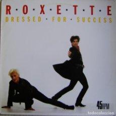 Discos de vinilo: ROXETTE-DRESSED FOR SUCCESS, HISPAVOX, PARLOPHONE 052 13 6353 6, 052-1363536. Lote 183007245