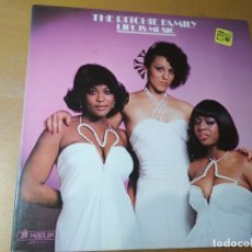 Discos de vinilo: THE RITCHIE FAMILY LIFE IS MUSIC LP GATEFOLD 1977 U.S.A. ¡¡IMPECABLE¡¡. Lote 183013235