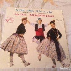 Discos de vinilo: PASCUAL ALBERO JOTAS ARAGONESAS. Lote 183013736