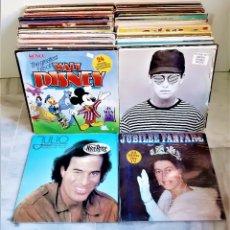 Discos de vinilo: SUPER LOTE MAS DE 100 LP`S Y ALBUMS DISCOS DE VINILO 33.RPM VARIOS ARTISTAS Y ESTILOS (VER IMAGENES). Lote 183014863