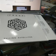 Disques de vinyle: FROST DOBLE LP + CD FALLING SATELLITES 2016 CARPETA DOBLE. Lote 183017148