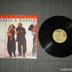 Discos de vinilo: WOMACK & WOMACK - TEARDROPS - MAXI - SPAIN - ISLAND RECORDS - LV - . Lote 183023660