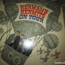 Discos de vinilo: HERMANS HERMITS - ON TOUR LP - ORIGINAL U.S.A. - MGM RECORDS 1966 - STEREO -. Lote 183028285